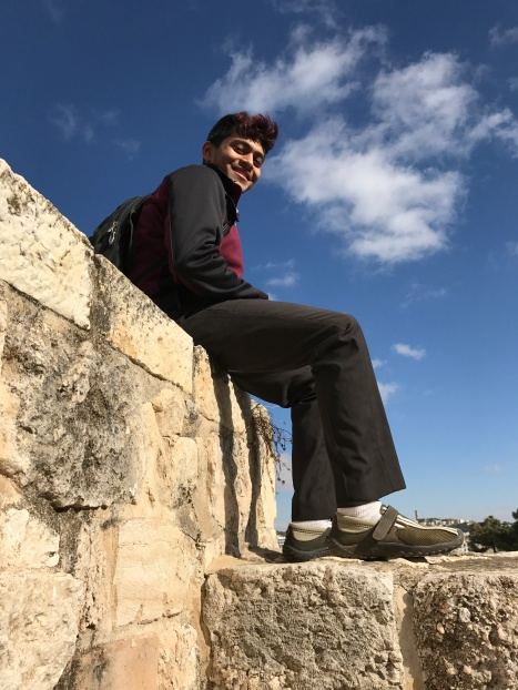 Shankha on the city walls